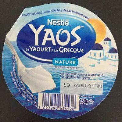 Le yaourt à la grecque, nature (Nestlé)