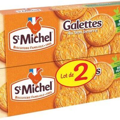 Galettes au bon beurre (St michel)