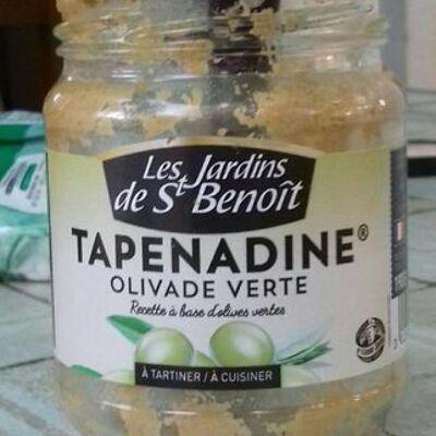 Tapenadine olives vertes (Les jardins de st benoit)