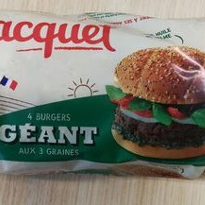 Géant burger 3 graines (Jacquet)