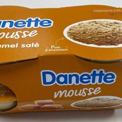 Danette mousse caramel salé (Danone)