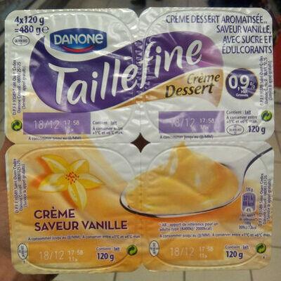 Taillefine crème à la vanille (Danone)