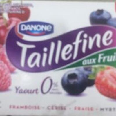 Taillefine fruits rouges (Danone)
