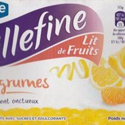 Taillefine lit de fruits - lit d'agrumes (Taillefine)