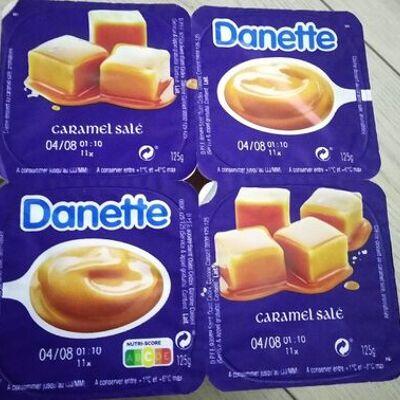 Danette caramel salé (Danone)