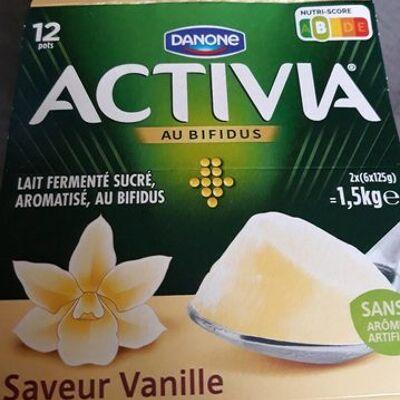 Activia vanille (Danone)