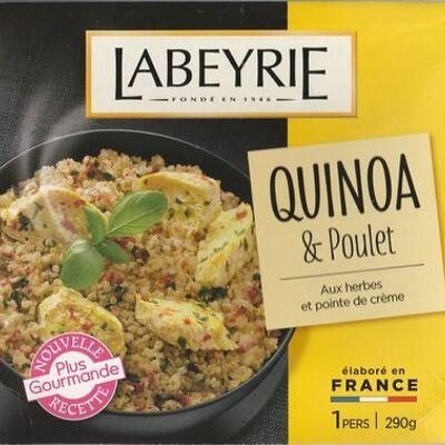 Quinoa & poulet (Labeyrie)
