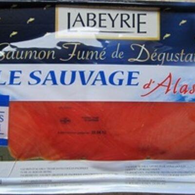 Saumon fumé de dégusation - le sauvage d'alaska (Labeyrie)