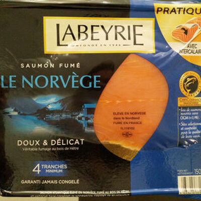 Saumon fumé norvège (Labeyrie)
