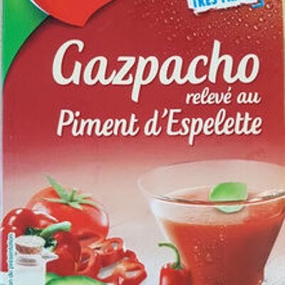 Gazpacho relevé au piment d'espelette (Liebig)