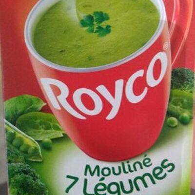 Mouliné 7 légumes verts (Royco)