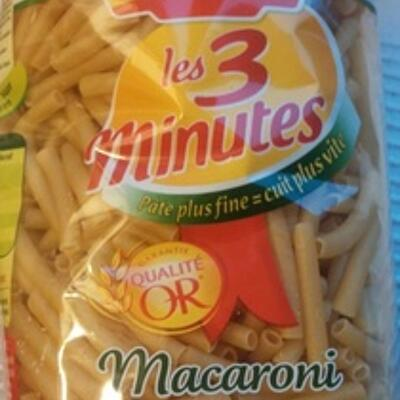 Les 3 minutes, macaroni (Panzani)