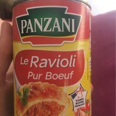 Le ravioli (pur bœuf, farce au bœuf) (Panzani)