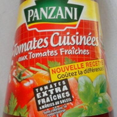 Tomates cuisinées aux tomates fraîches (Panzani)