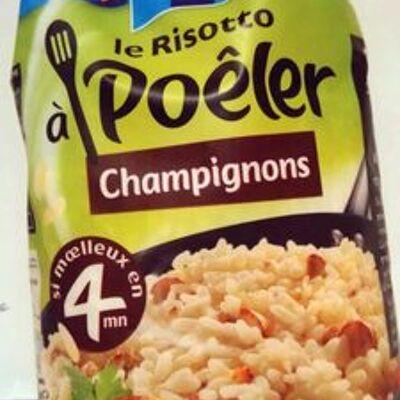 Le risotto à poêler champignons (Lustucru)