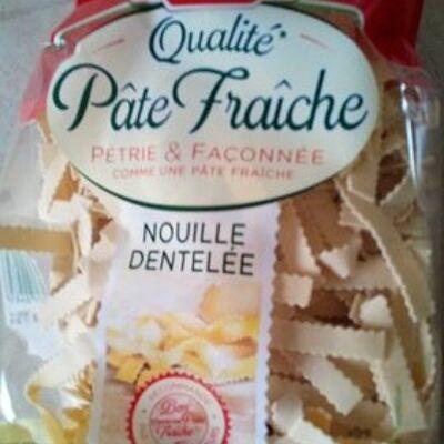 Nouille dentelée - qualité pâte fraîche (Panzani)