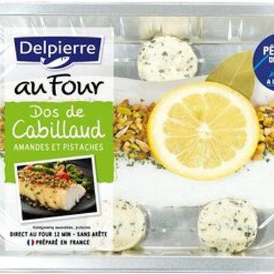 Dos de cabillaud amandes et pistaches (Delpierre)