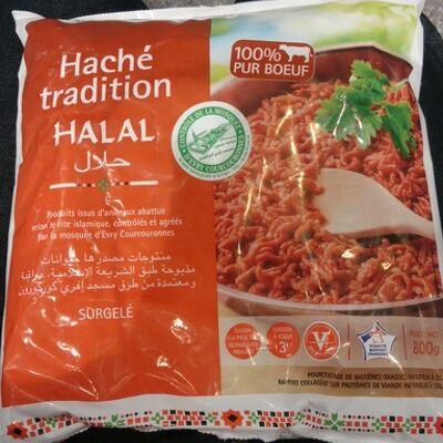 Haché tradition halal (Sans marque)