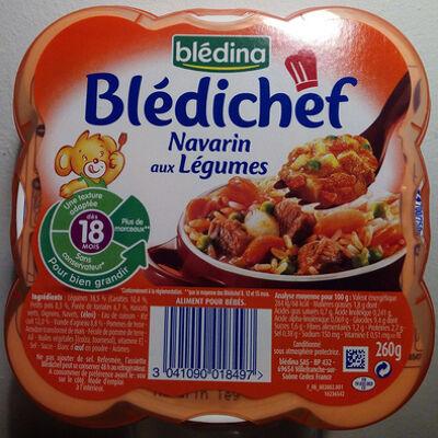 Blédichef navarin aux légumes (Blédina)