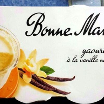 Yaourt à la vanille naturelle (Bonne maman)