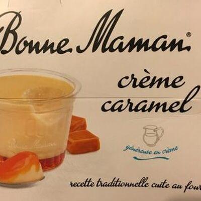 Crème caramel aux œufs frais (Bonne maman)