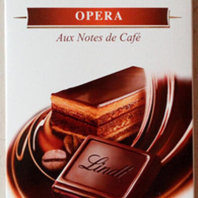 Creation opera aux notes de café (Lindt)