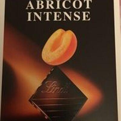 Excellence abricot intense noir aux amandes effilées (Lindt)