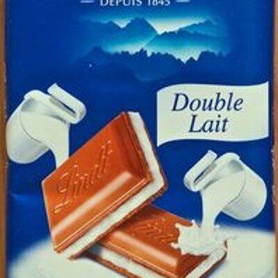 Tablette recette originale double lait (Lindt)