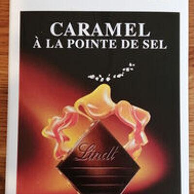Excellence - chocolat caramel à la pointe de sel (Lindt)