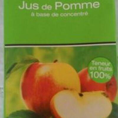 Jus de pomme à base de concentré (Gusto debrio)