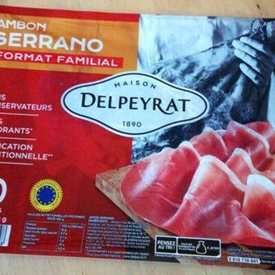 Jambon serrano (Delpeyrat)