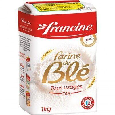 Farine de blé tous usages t45 (Francine)