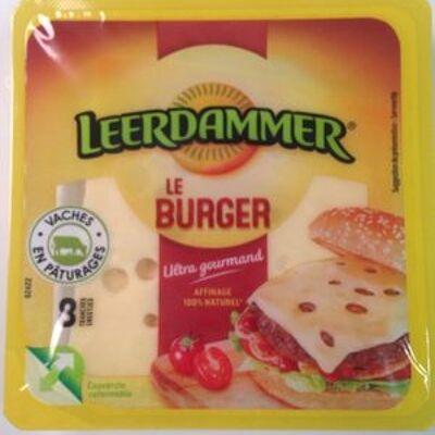 Le burger (Leerdammer)