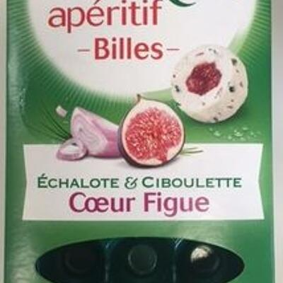 Apéritif billes - coeur figue (Boursin)