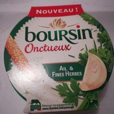 Velvety garlic & herb whipped french cheese dip (Boursin)