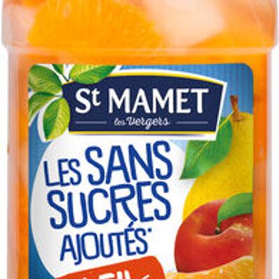 Soleil sans sucres ajoutés (pêches / poires / mandarine) (St mamet)