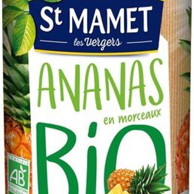 Ananas en morceaux bio (St mamet)