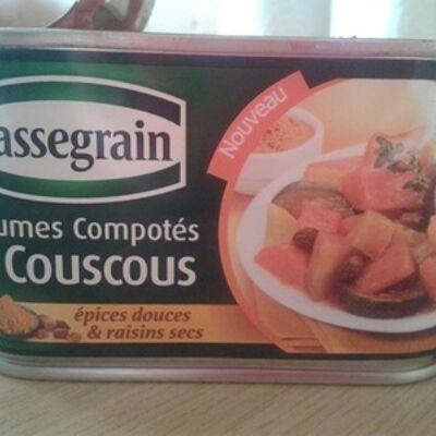 Légumes compotés pour couscous (Cassegrain)