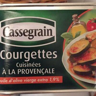 Courgettes cuisinées à la provençale (Cassegrain)