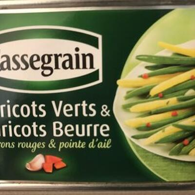 Haricots verts et haricots beurre (Cassegrain)