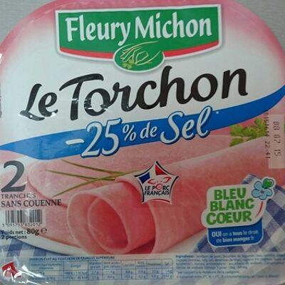 Le torchon -25% de sel (Fleury michon)