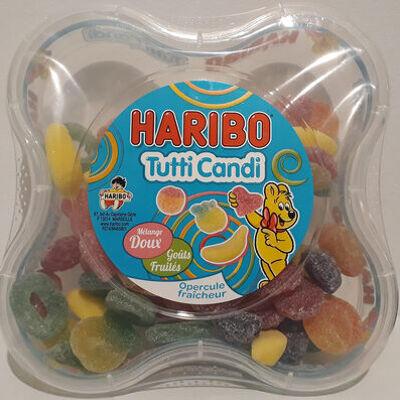 Tutti candi mélange doux goûts fruités (Haribo)