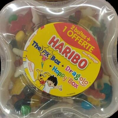 Maxi partage (dragolo + happy'box + pik box) (Haribo)