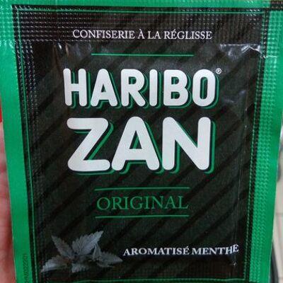 Zan original aromatisé menthe (Haribo)