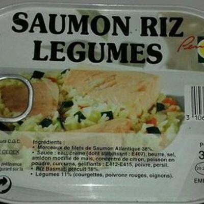 Saumon riz legumes (Penny)