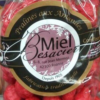 Pralines aux amandes (Miel besacier)