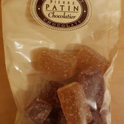 Assortiment de pâtes de fruits (Pierre patin chocolatier)