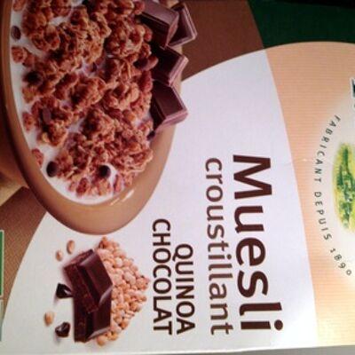 Muesli croustillant quinoa chocolat (Joseph favrichon)