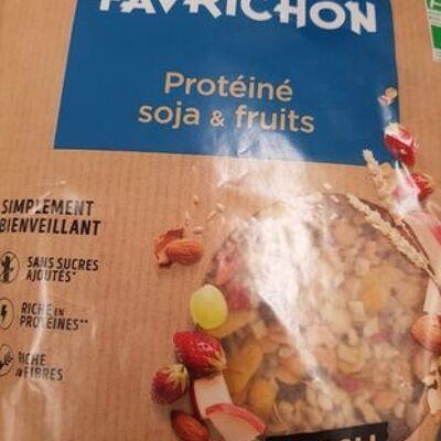Protéiné soja et fruits (J.favrichon)