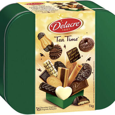 Tea time tradition (Delacre)